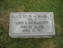 Eunice <i>Taylor</i> Baumgardner
