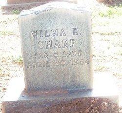 Wilma <i>Ross</i> Sharp
