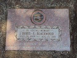Doris E Blackwood