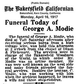 George A Modie