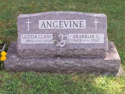Letitia F <i>Clancy</i> Angevine