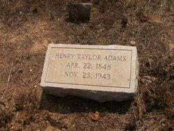 Henry Taylor Adams