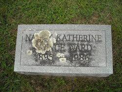Nancy Catherine <i>Spence</i> Ward