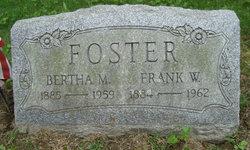 Bertha M <i>Rayder</i> Foster