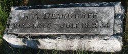 Harry A. Deardorff