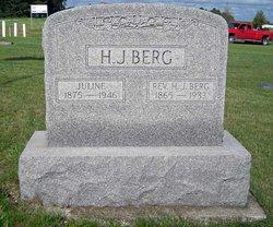 Juline J <i>Sether</i> Berg