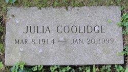Julia Coolidge
