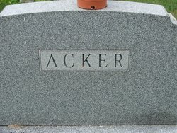 Edgar Clarence Acker