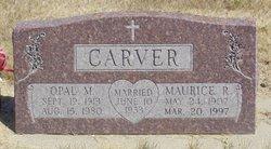 Opal M. <i>Martin</i> Carver