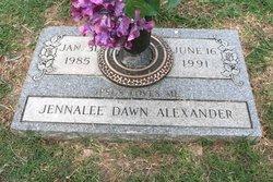 Jennalee Dawn Alexander