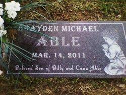 Brayden Michael Able