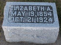 Elizabeth A. <i>Frick</i> Deardorff