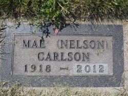 Mae <i>Nelson</i> Carlson
