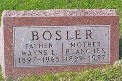 Blanche S <i>Burnett</i> Bosler
