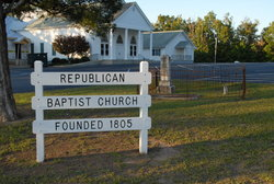 Republican Baptist Church Cemetery