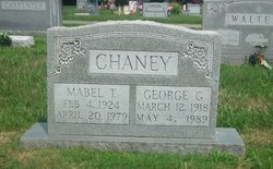 Mabel T Chaney