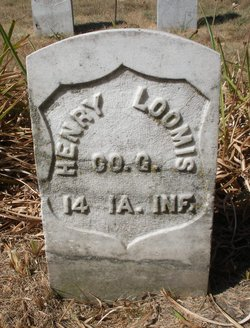 Pvt Henry W Loomis