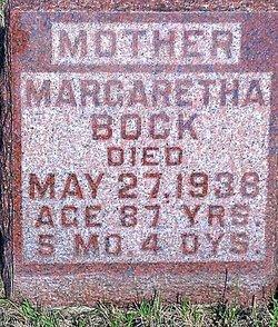 Margaretha <i>Kruse</i> Bock
