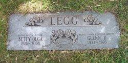 Betty Olga <i>Schreiber</i> Legg