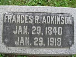Frances Ann <i>Roberts</i> Adkinson