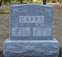 Mary Jane <i>Reese</i> Capps