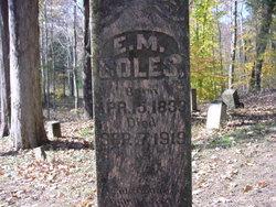 Elijah M. Boles