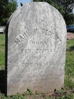 Mary P. Beckett