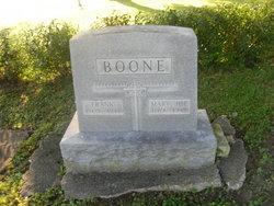 Mary Josephine <i>Dawson</i> Boone