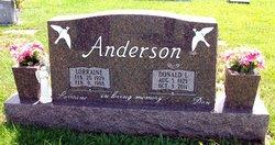 Lorraine Otie <i>LeMasters</i> Anderson