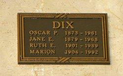Marion E. Dix