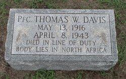 PFC Thomas Wilson Davis