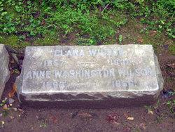 Anne Washington Wilson