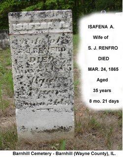 Isaphenia Ann <i>Renfro</i> Atteberry