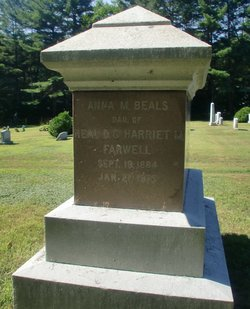 Anna M. <i>Farwell</i> Beals
