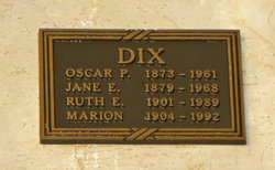 Jane <i>Edgerton</i> Dix