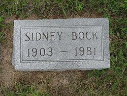 Sidney G Bock