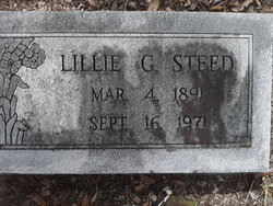Lillie Gertrude <i>Sweat</i> Steed
