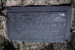 Lafayette A Carnahan