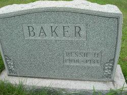 Bessie H Baker