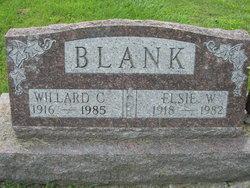 Willard C Blank