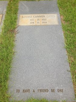 Louise Cannon Cates