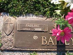 Pauline <i>Cannon</i> Bailey