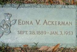 Edna V Ackerman