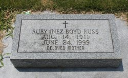 Ruby Inez <i>Boyd</i> Russ
