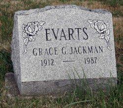 Grace G <i>Jackman</i> Evarts