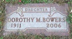 Dorothy M <i>Hanes</i> Bowers