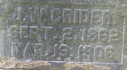 J. W. Crider