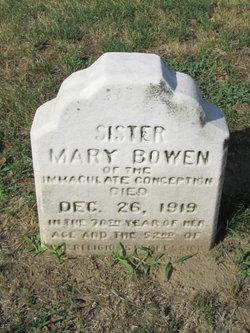 Sr Mary Bowen