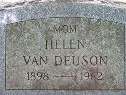 Mrs Helen <i>Fonda</i> Van Deuson