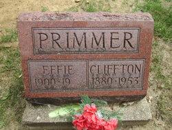 Cliffton Primmer